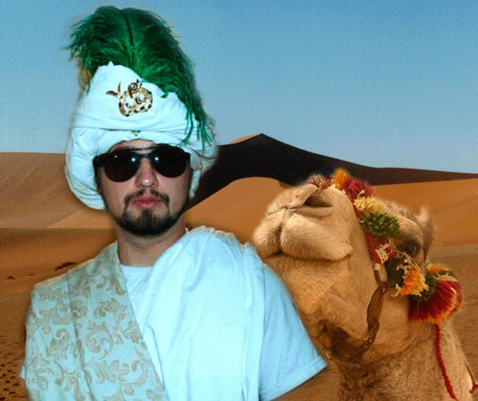 stephen the camel sales man