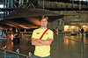 Stephen in front of SR-71