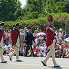 leader of fife and drum corp