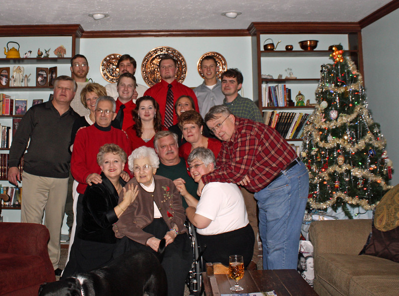 Grandma and the whole family