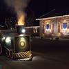 The little train that carries Santa