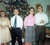 Auntie Darlene, Uncle David, Auntie Linda, Dad (From Christmas '68)