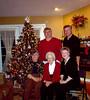 Dad, Uncle David, Auntie Linda, Grandma, Auntie Darlene.