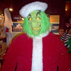 Dad in the grinch costume