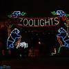 Entrance of Zoo Lights