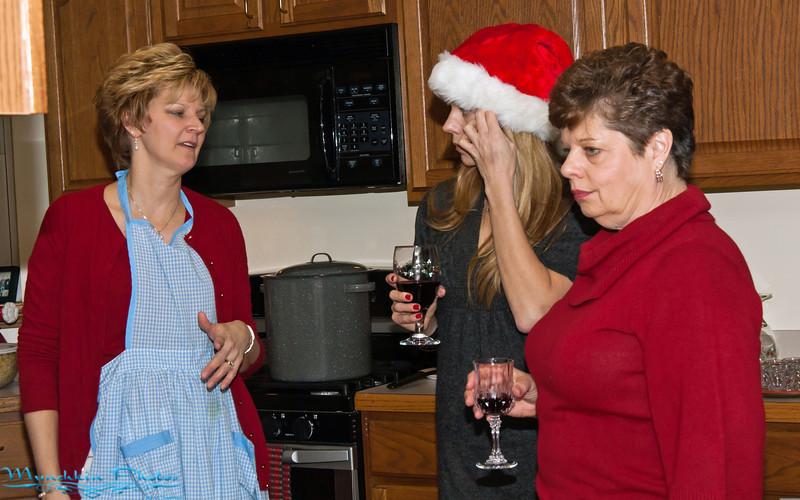 Aunt Karen, Erica, mom