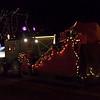 Santa's train and sleigh
