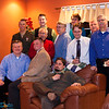 The Guys - Uncle David, Jon, Stephen, Jeff, Uncle Felix, Uncle David, Jim, Uncle Tom, Dave, Chris, and Dad