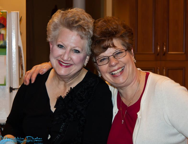 Auntie Darlene and Mom