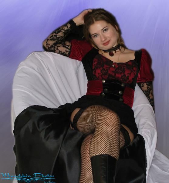 I'm a burlesque vampire.