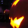 pumpkins on the bar tables