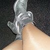 my nifty silver boots