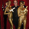 Jim with the gold bond girls