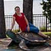 me on sea turtle