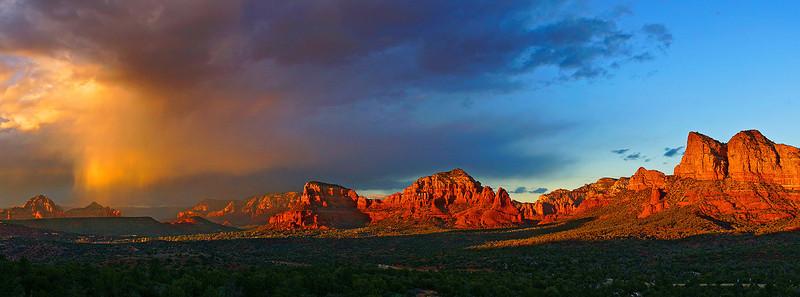 Sunset in Sedona Arizona