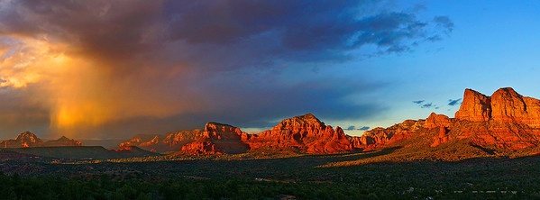 Sunset in Sedona Arizona