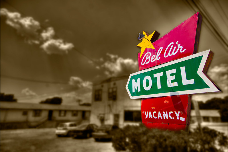 The Bel Air Motel in South Austin