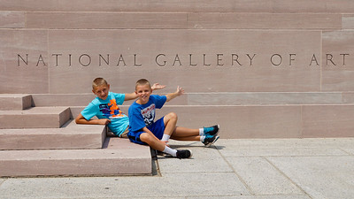 Tanner and Colin's favorite museum.