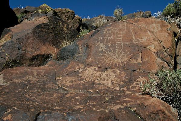 Lower Renegade Canyon Petroglyphs