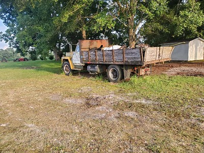 1968 Load Star Int Dump Truck / needs some work / rebuilt 345 gas engine / rebuilt transmission / rebuilt 2 speed rear / new tires / pintle hitch / new twin exhaust system / single cyl progressive hyd lift / on 14 ft steel dump bed / stake sides / clear title / Make an OFFER on both dump trucks together!