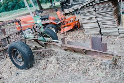 Wood Splitter / pull behind model / needs some work / $200 or make offer.