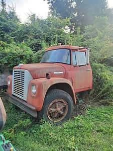 1975 Loadstar Int Cab and rails / parts truck / 40,000 mi (original) on 345 gas engine & transmission / make an offer on both dump trucks together!