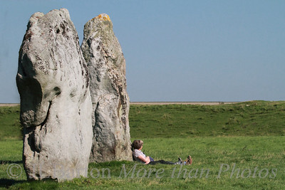 Summer Dreams Two of the standing stones at Avebury, UK.  Much more accessible than Stonehenge and an order of magnitude fewer visiters.