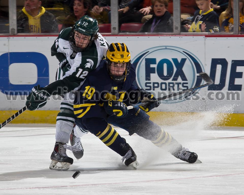 University of Michigan Wolverines vs Michigan State Spartans