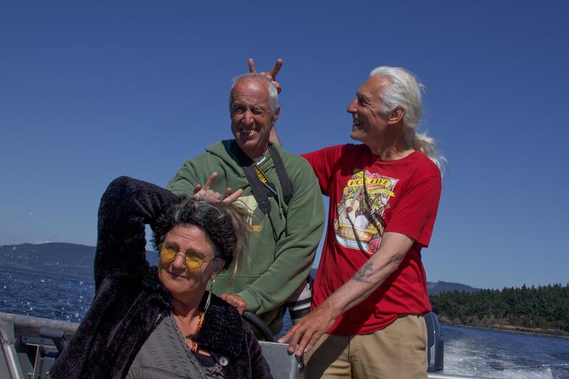 Three Loving Stooges