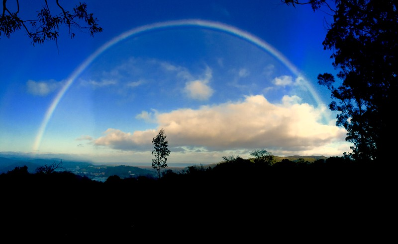 Rainbow over San Rafael