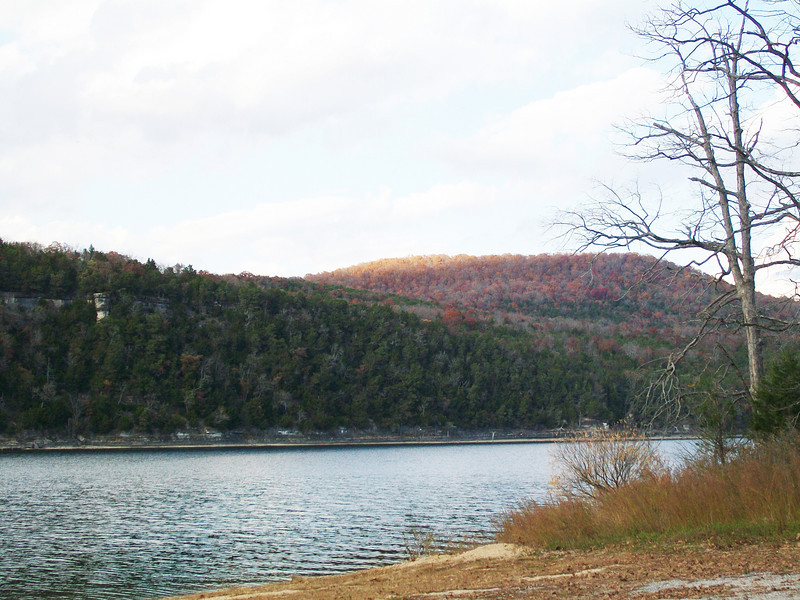 Table Rock Lake looking towards Turkey Mountain.