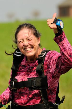 2011 - Deborah Skydiving