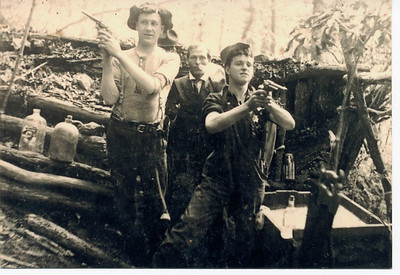Everett Hibbits, Toby Elkins, and Jim Fleming
