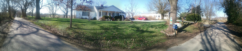 panorama of house