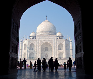 From The gallery 'India' (Under 'Travel') The Fourth Photo From The Series 'The Taj Mahal '