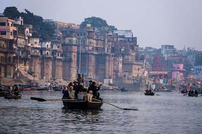 From The Gallery 'Dawn On The Ganges' (Under 'Travel') The Sixth Photo In That Series.