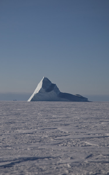 The iceberg I took night photos of earlier this trip
