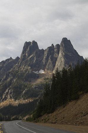 Early Winters Spires, Washington Pass, Hwy 20