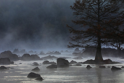Early morning at Beaver's Bend State Park in Oklahoma.