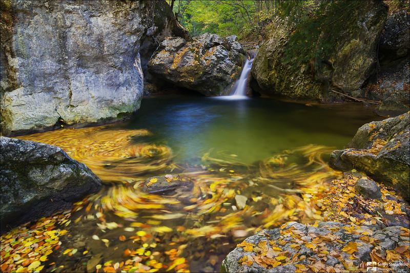 On the river Auzun Uzen | На реке Аузун Узень