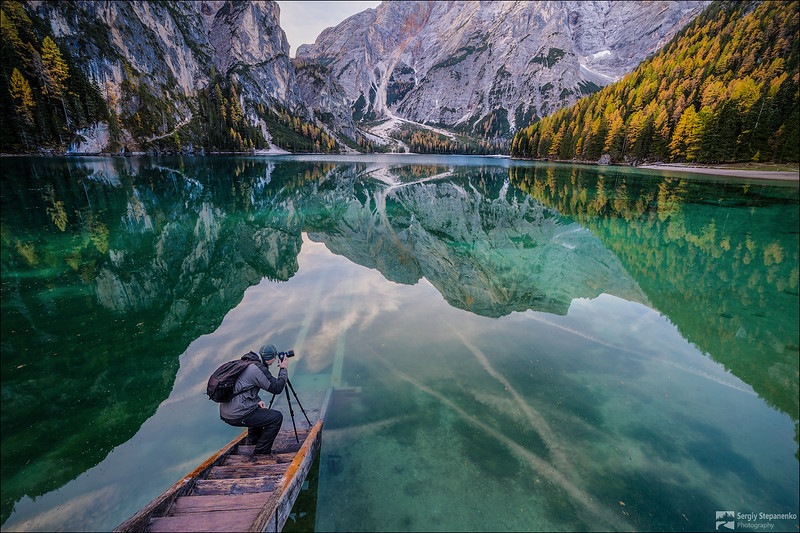 Taking Photo of the Reflection | Снимая отражуху