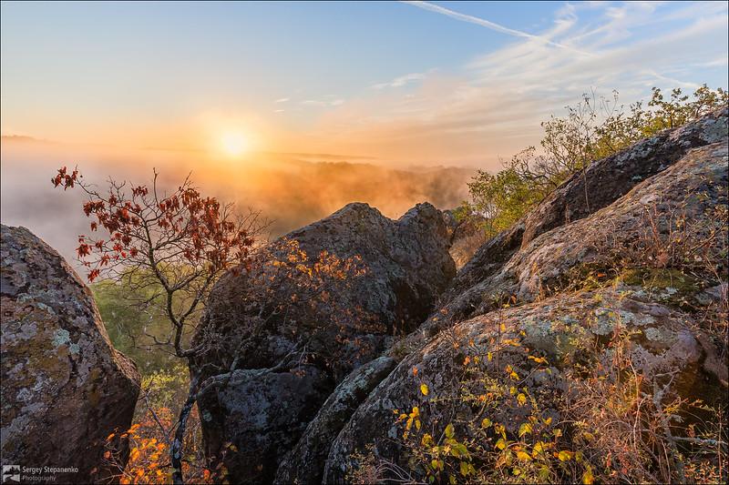 Morning on the Rocks | Утро на скалах
