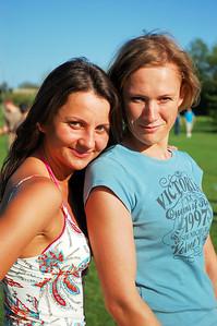 Polish girls at the Campus Challenge