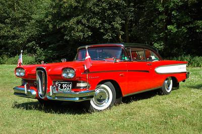 Edsel Pacer 2dr HT 1958, 6,2L V8, 303HP.