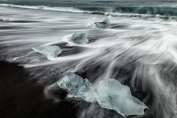 Glacier Lagoon beach