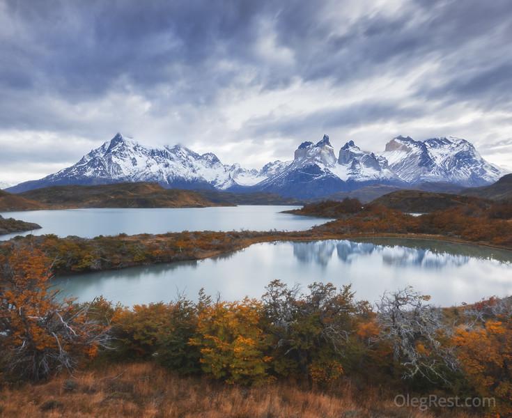 Autumn in the Torres del Paine
