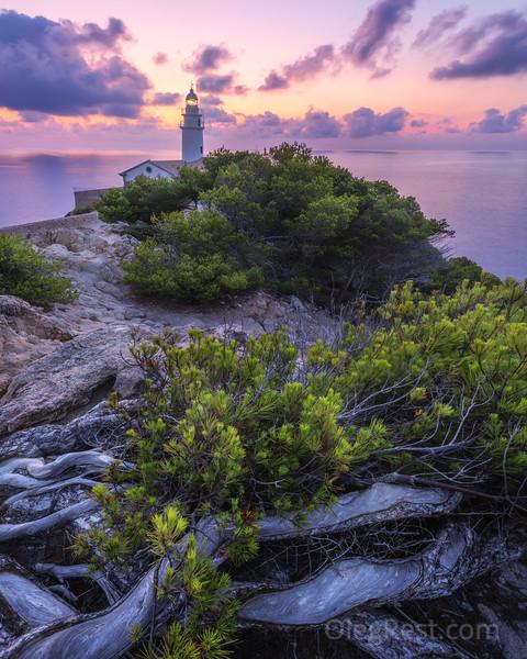 Mallorca lighthouse
