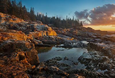 Sunrise at Little Hunters Beach