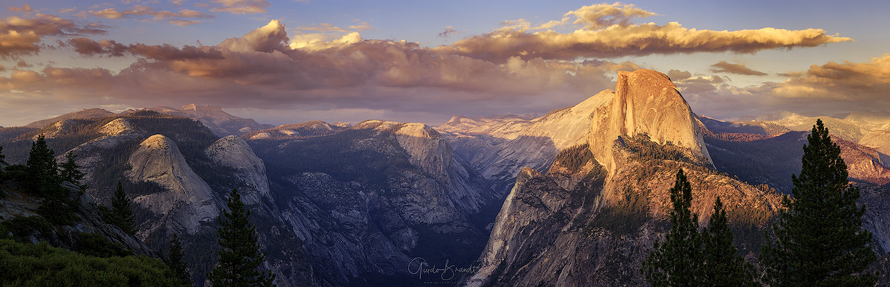 Sunset at Glacier Point
