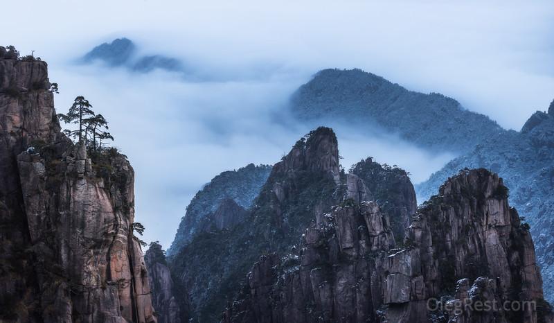 Misty China